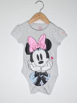 Body Cinza Minnie Disney Primark