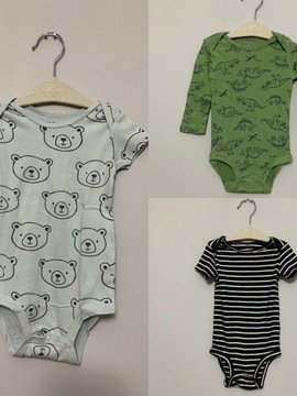 3 bodies Carters (12M)