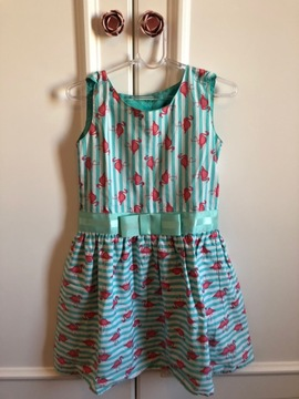 Vestido Flamingos Tip Top