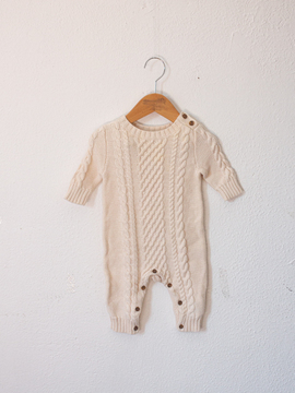 Macacao em tricot Baby Gap