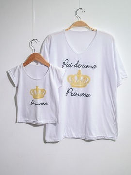 Kit Pai&Filha! T-shirt Princesa