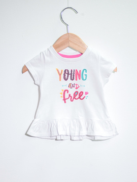 T-shirt Young and Free