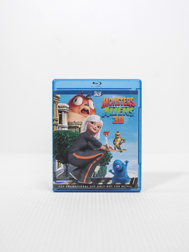 Dvd Blu-ray Monstros VS Alienigenas 3D