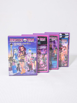 Conjunto de Dvd's Monster High