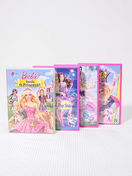 Conjunto de Dvd's Barbie Princesa
