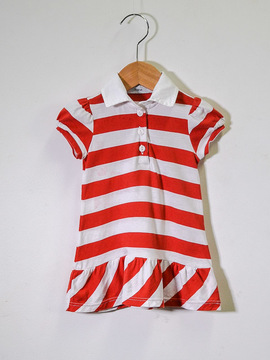 Vestido Listrado Vic Children