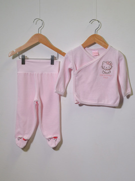 Conjunto Hello Kitty Baby Rosa Plush