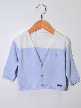 Cardigan Azul Paola Tricot