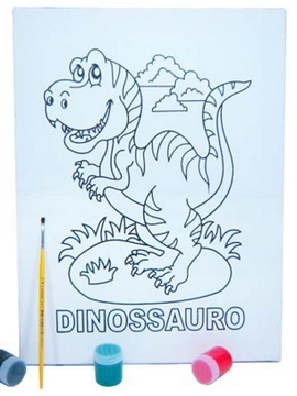 Kit Tela G - Dinossauro - Kits for Kids