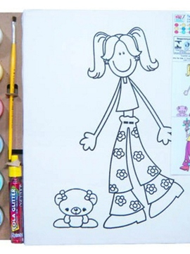 Kit Super Telas - Meninas - Kits for Kids