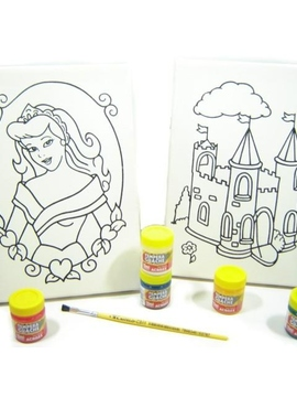 Kit 2 Telas - Princesa / Castelo - Kits for Kids