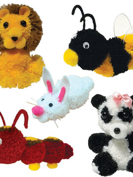 Kit Pompom - Animais - Kits for Kids