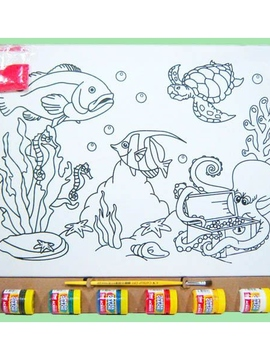 Kit Tela G - Fundo do Mar 2 - Kits for Kids