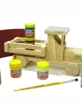 Kit Pintar e Brincar M - Ford - Kits for Kids