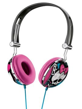 Fone de Ouvido com Microfone Monster High P2 - PH100 - Multikids