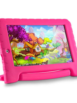 Tablet Multilaser Kid Pad Plus Rosa 1GB Android 7 Wifi Memória 8GB Quad Core - NB279 - Multikids