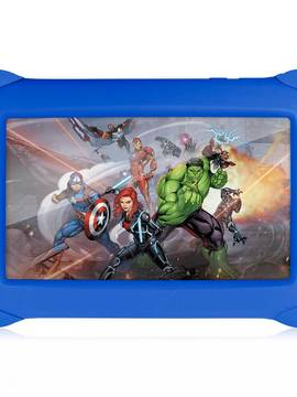 Tablet Vingadores - 7 Polegadas - Wifi - 8GB Memória Interna - Quad Core - Azul - NB240 Multikids