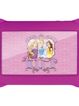 Tablet Disney Princesas - 7 Polegadas - Wifi - 8GB Memória Interna Quad Core Rosa NB239 Multikids