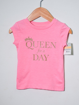 Camiseta Queen for a Day Carter's