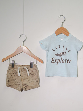Conjunto Little Explorer Carter's
