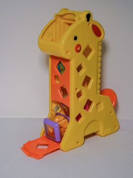 Girafa com Blocos Fisher Price