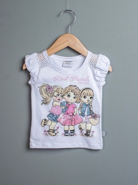 Blusa Kids Best Friends