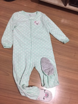 Pijama Fleece Carter's