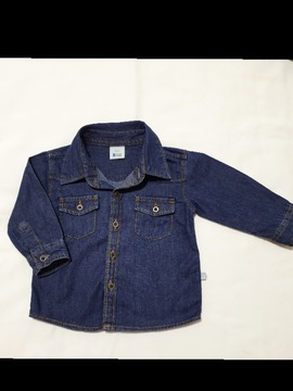 Camisa Jeans Teddy Boom