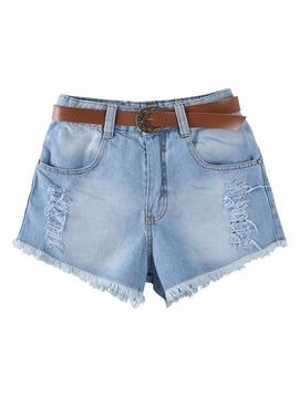 Shorts Jeans + Cinto Giovanna Chaves