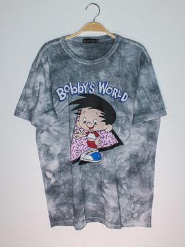 Camiseta Cinza Bobby's World Baw Clothing
