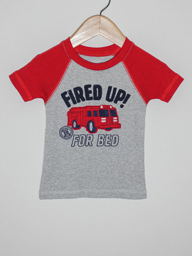 Camiseta Carter's Fired Up!