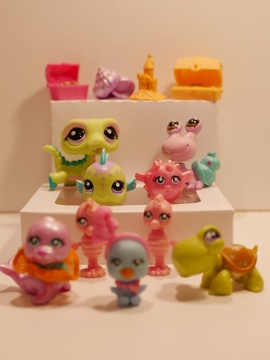 Lote de Littlest Pet Shop (tema de praia)