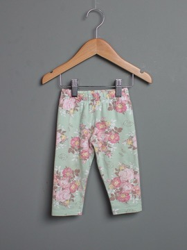 Calça Floral Hello Kitty