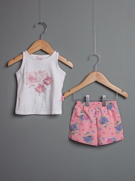 Conjunto Floral Girls