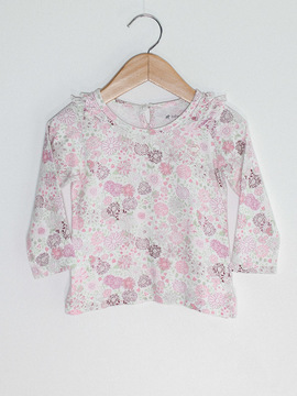 Blusinha Floral Baby Cottons