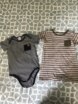 Kit 2 bodies teddy boom 9 a 12 meses