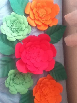 Flores Papel Craft